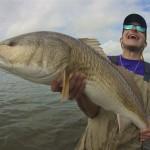 Happy Alex redfish