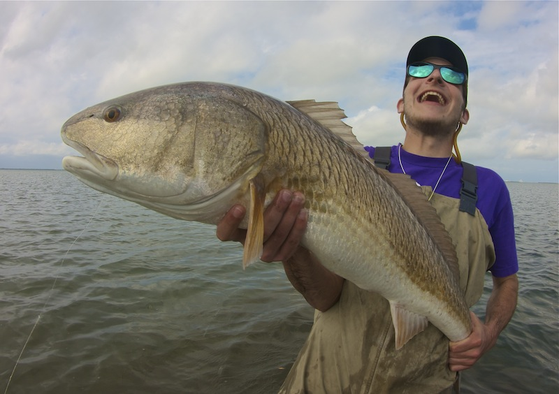 Happy Alex redfish