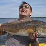 Happy Todd redfish