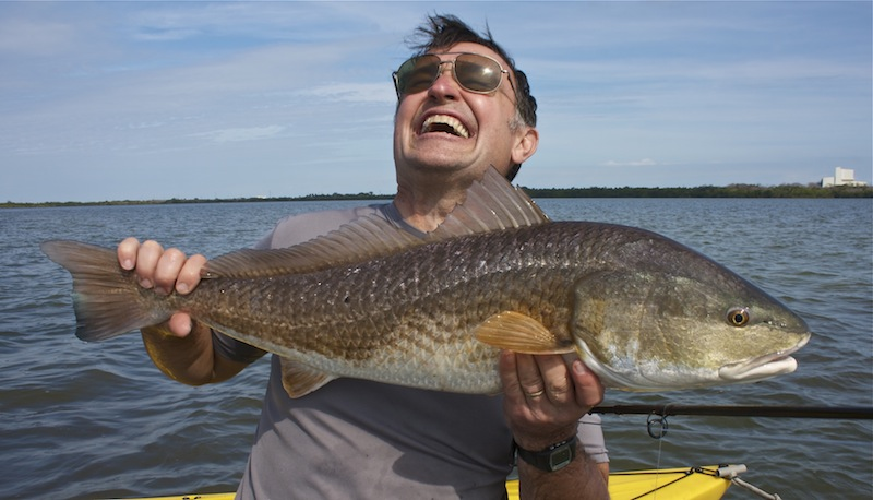 Happy Todd redfish