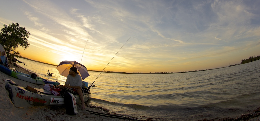 sunset south of vero