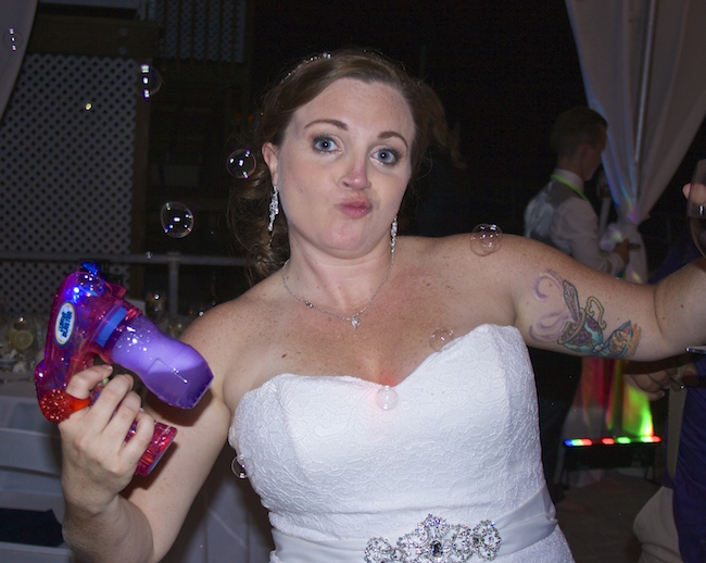 bride with 'tude
